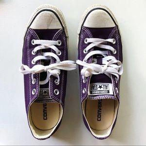 Converse Unisex Classic, Purple Size 8.5W